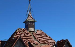 Remont wieżyczki w Ustce