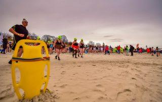 morsowanie na plazy w Ustce