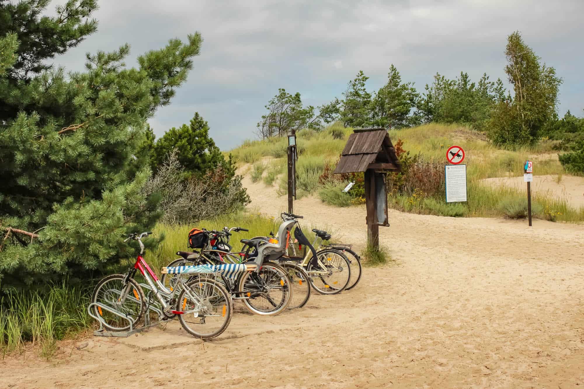 Atrakcje dla aktywnych - Ustka - Trasy rowerowe