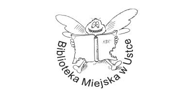 Biblioteka Miejska w Ustce Logo