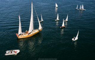 Żagłówki na morzu Bałtyckim_regaty Ustka