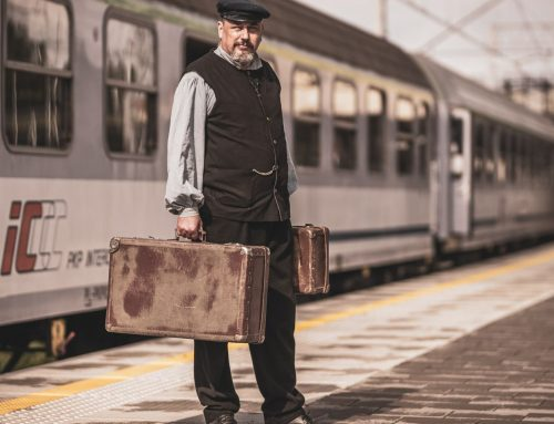 Poznaj historię kolei w Ustce