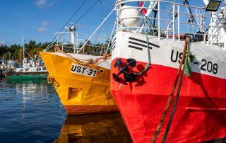 Opowieści na fali port w Ustce