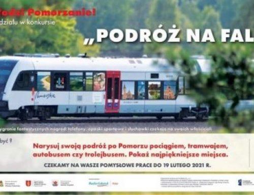 """Konkurs plastyczny """"Podróż na FALI"""""""