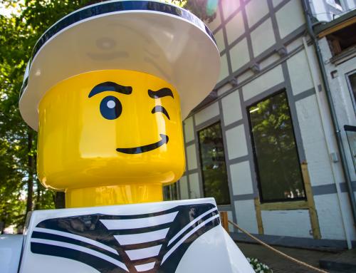 Wystawa Klocków LEGO w Ustce.