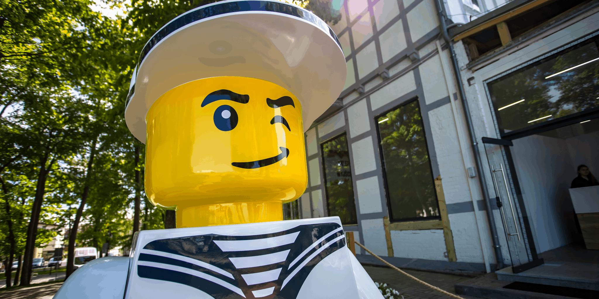 Lego w Ustce