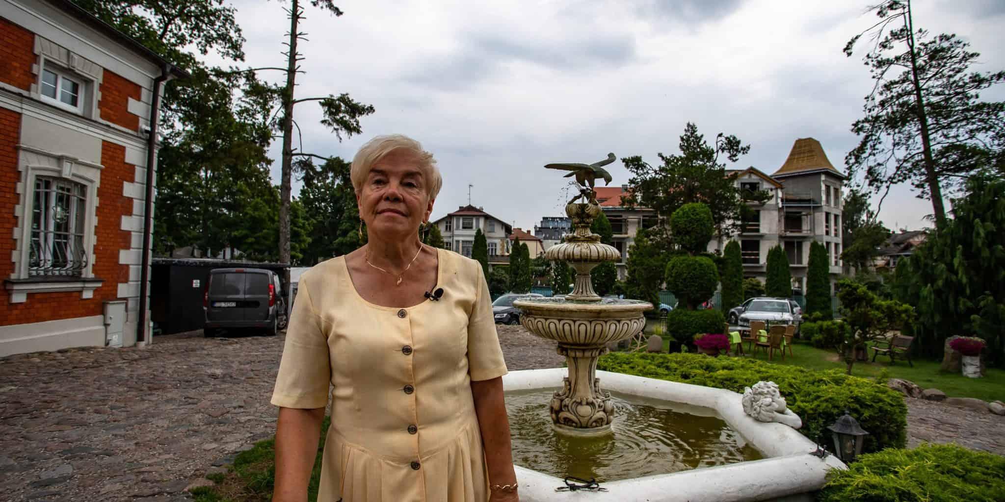 Elżbieta Nadolna-przewodnik po Ustce
